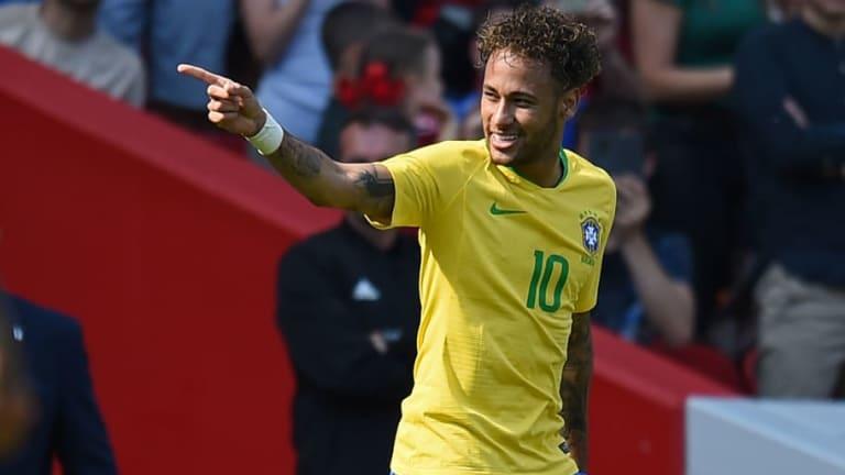 Neymar desvela quiénes son sus 4 ídolos de la historia de la selección brasileña