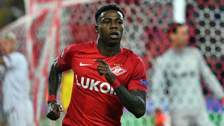 Southampton Hit Snag in Quincy Promes Pursuit as Spartak Moscow Reportedly Unwilling to Sell