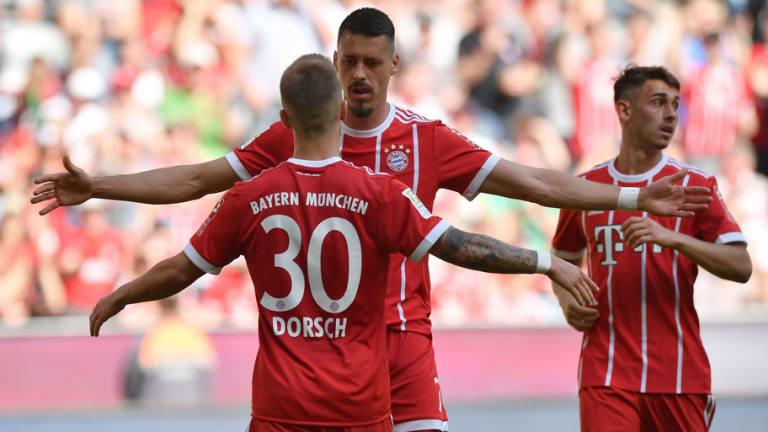 Bayern Munich 4-1 Frankfurt: Niklas Dorsch Scores on Debut As Fresh-Faced Bavarians Grind Out Win