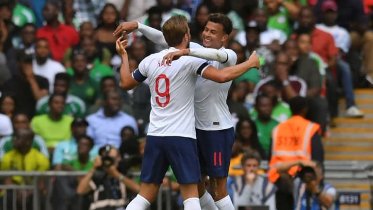 Dele Alli Claims Linking Up with Harry Kane is Easy Ahead of World Cup With England