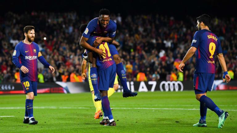 La apuesta diaria de Yerry Mina con Luis Suárez y Leo Messi