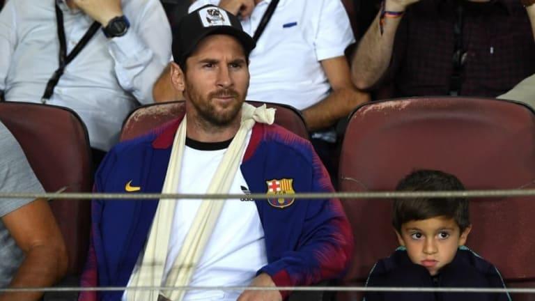 El mensaje de Leo Messi tras la victoria del Barca sobre el Inter