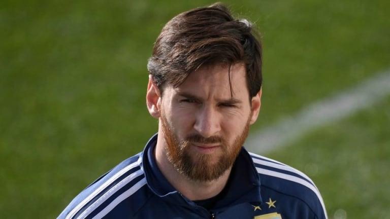 Así animó Messi a sus compañeros después de la sonrojante derrota ante España