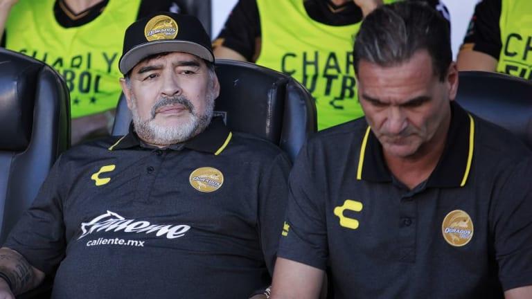 Explotó la interna en Dorados: ¿Islas se va del equipo de Maradona?
