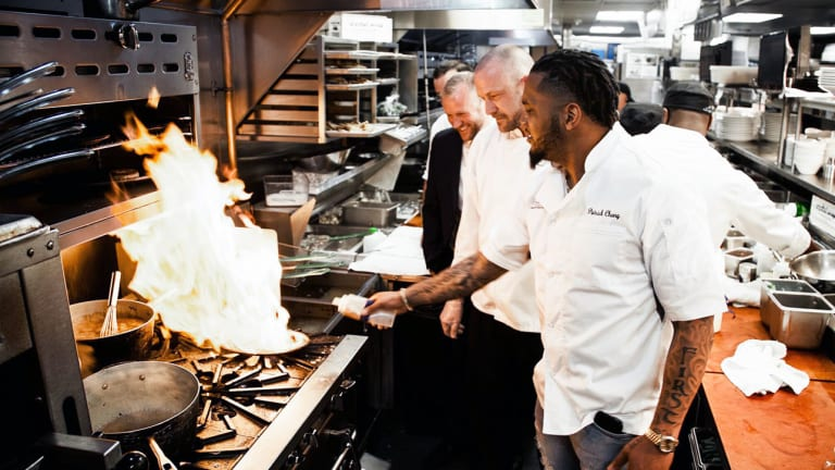 In the Kitchen with Patriots Safety Patrick Chung