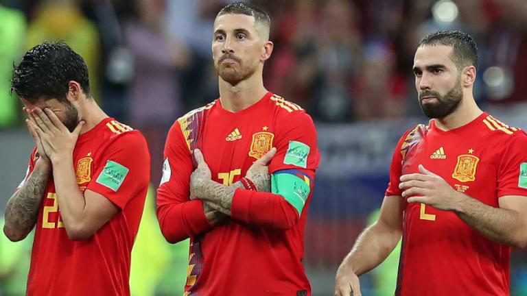 Los mejores memes de la eliminación de España ante Rusia, la mano de Piqué, el fallo de Koke y más