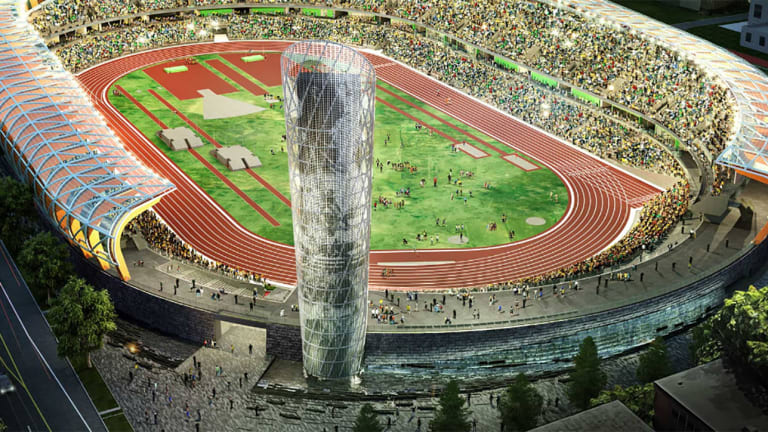 New Hayward Field Selected to Host 2020 U.S. Olympic Track and Field Trials