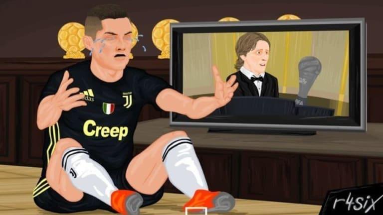 """Los mejores memes de la gala """"The Best"""": El Puskas a Salah, la ausencia de Ronaldo y Messi y más"""