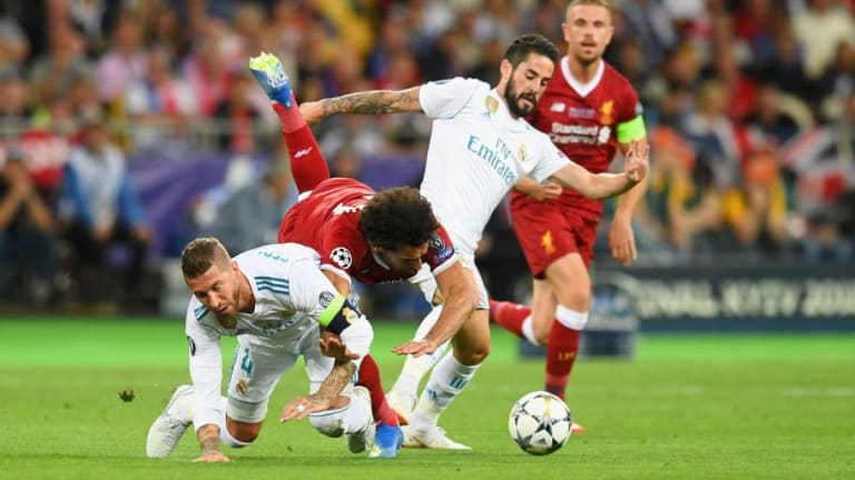 VIRAL   El troleo de un twitter de lucha libre a Sergio Ramos tras lesionar a Salah