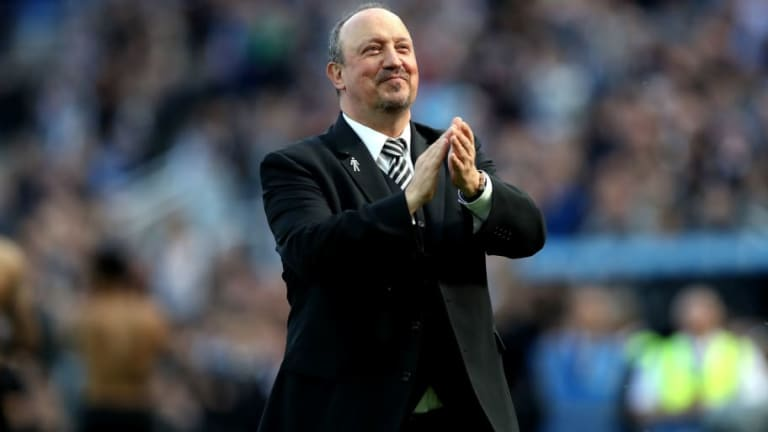 Newcastle Striker Admits He Loves Playing for Rafa Benitez and Reveals Manager's Post-Season Speech