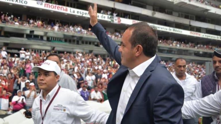 NOSTÁLGICO | Cuau volvió a su viejo hogar para cerrar campaña con Morena