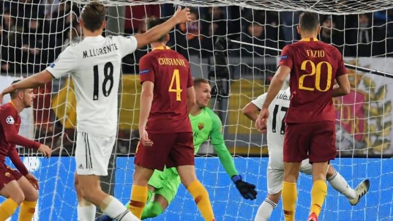 Lo bueno, lo malo y lo feo del AS Roma-Real Madrid (0-2)