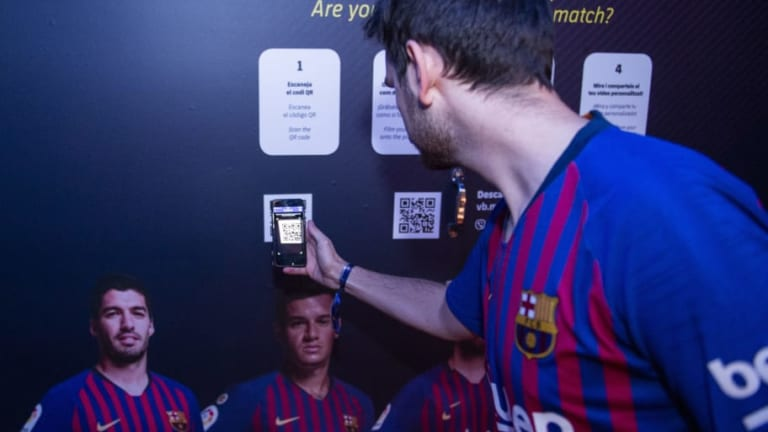 Barcelona & Viber Create More Than a Stadium Tour With Interactive 'Player Journey' for Fans