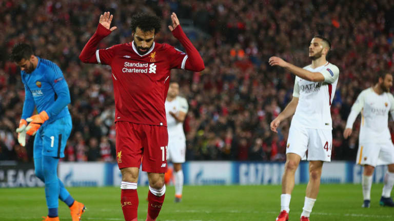 Fans Applaud Mohamed Salah's 'Class' After Cameras Capture Tunnel Moment in Roma Clash