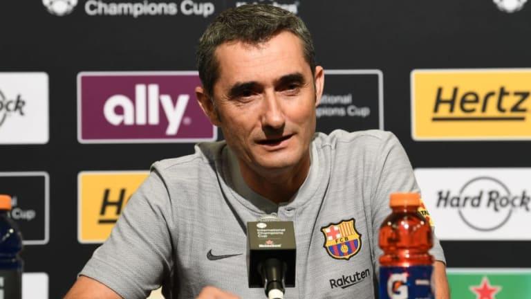 Los dos jugadores del Barcelona que Valverde quiere que se queden en el club