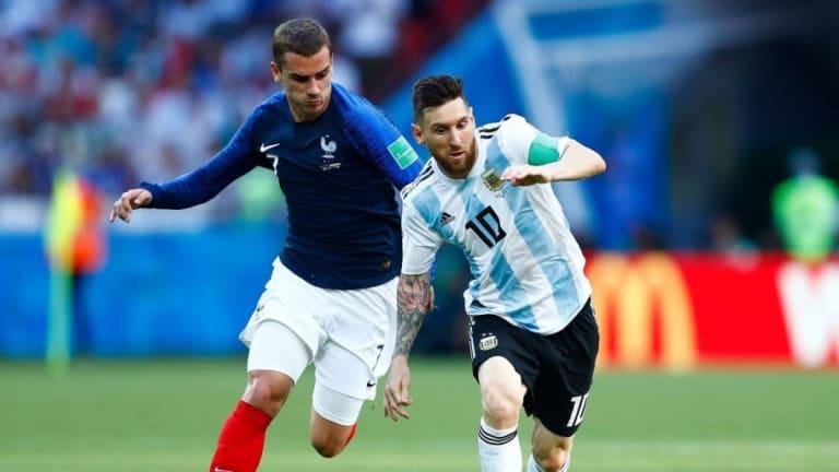 El mensaje del hermano de Griezmann a Messi tras caer eliminado