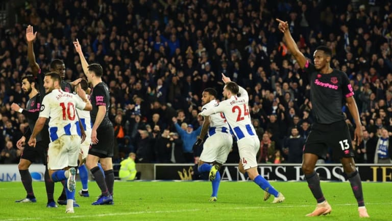 Brighton 1-0 Everton: Report, Ratings & Reaction as Locadia Strike Seals Victory for Seagulls