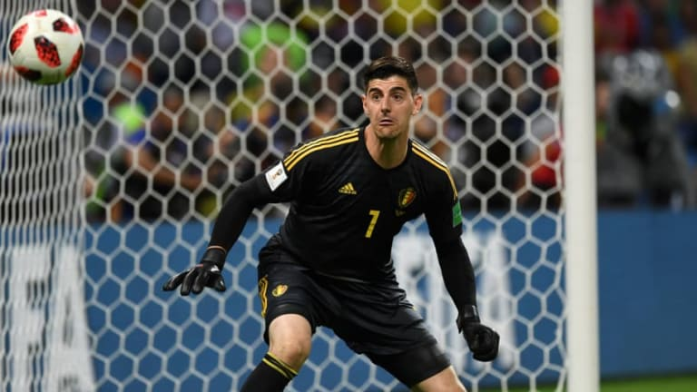 Chelsea Stopper Thibaut Courtois Denies Mocking Everton and England Star's Height