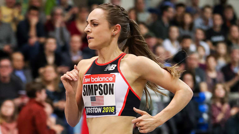 After Breaking American 2-Mile Record, Jenny Simpson is Motivated for More in 2018
