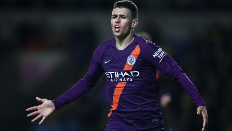 England Prospect Phil Foden Insists He Is Prepared to Wait for Manchester City Opportunity