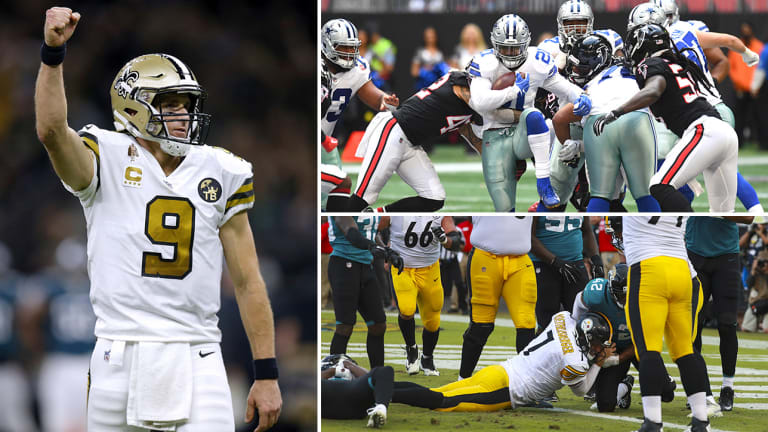 Week 11 Takeaways: Brees Having Season for the Ages, Big Ben Comes Back from the Dead, Cowboys D Can Make Them This Year's Jaguars
