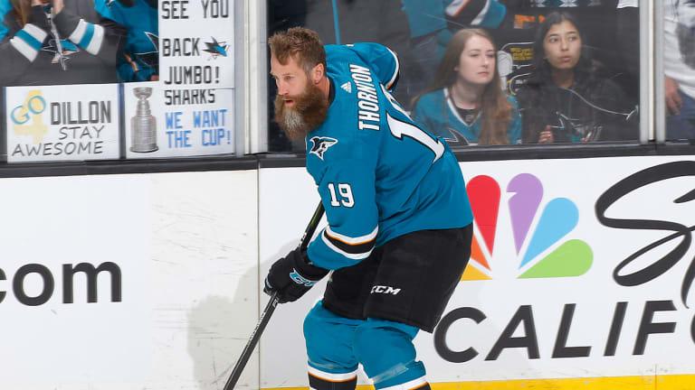 Sharks Re-sign Forwards Joe Thornton, Tomas Hertl
