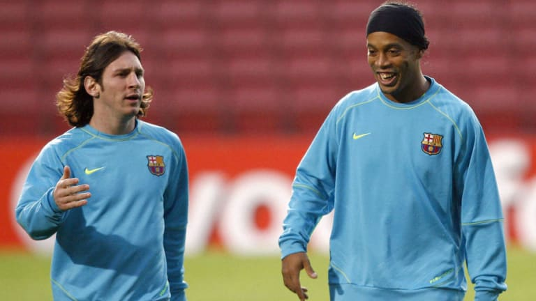 Barcelona Legend Ronaldinho Rejects Claims That He Was a 'Bad Influence' on Lionel Messi