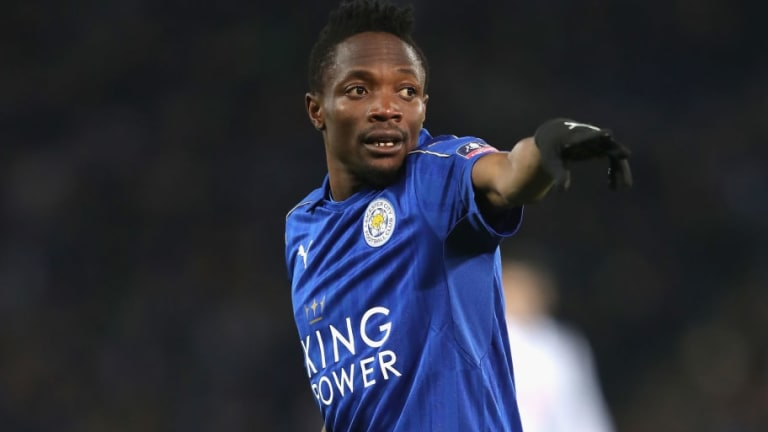 Galatasaray Closing on Leicester Forward Ahmed Musa With Verbal Agreement in Place Over Loan Deal