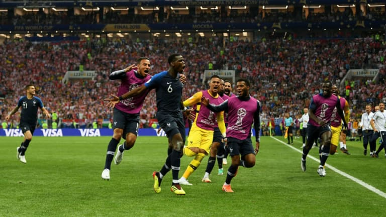 France Win 2018 World Cup Following Stunning 4-2 Victory Over Croatia in Moscow