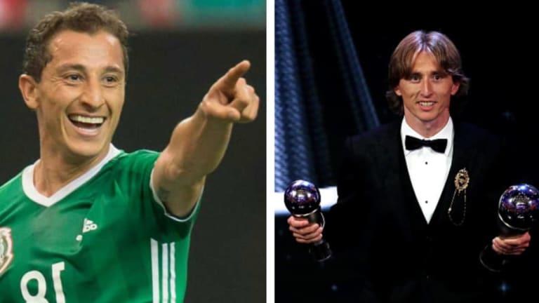 ¡LE ECHÓ LA MANO! | Andrés Guardado ayudó a Modric a obtener el Premio The Best