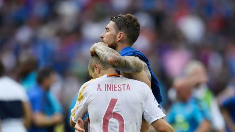 Sergio Ramos Hints at Reunion in China With Andres Iniesta After Final Clasico Meeting