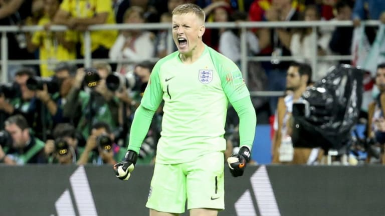 Jordan Pickford Hits Back at Thibaut Courtois' Height Jab After Colombia Penalty Heroics