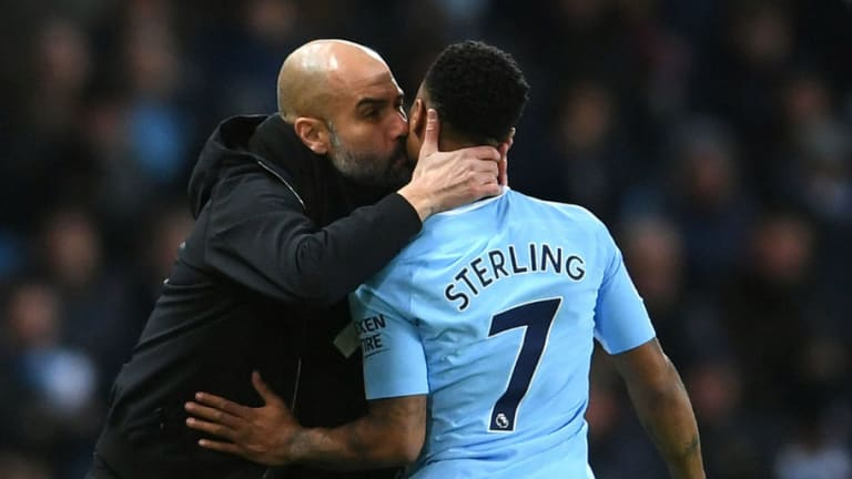Raheem Sterling Reveals How Pep Guardiola Has Pushed His Form on to Next Level
