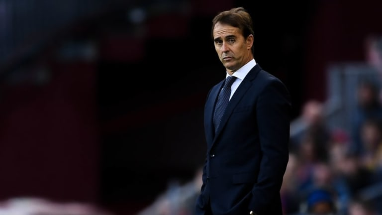 Julen Lopetegui Says Goodbye to Players Following Real Madrid's Worst League Start Since 2009