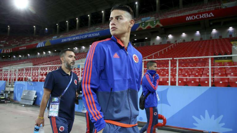DESGARRADOR | La foto que publicó James Rodríguez en Twitter tras la eliminación de Colombia