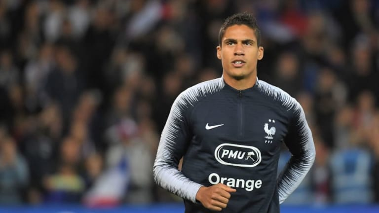 Real Madrid Forced to Sweat Over Raphael Varane's Fitness After Picking Up Injury Playing for France