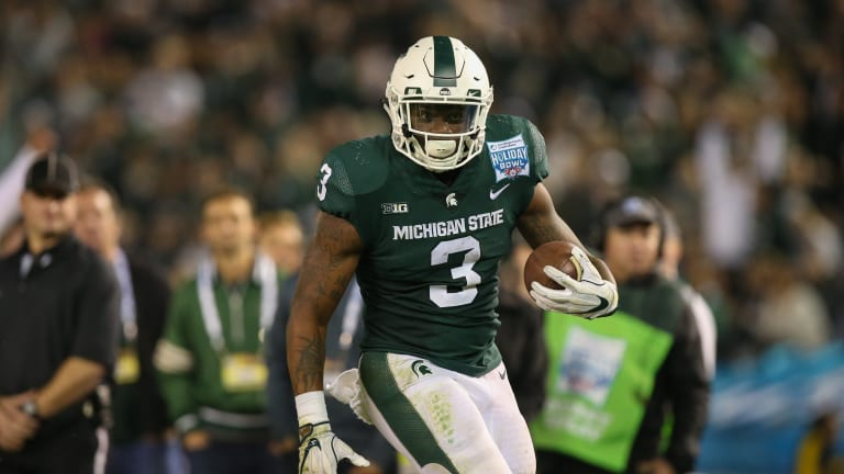 Michigan State RB LJ Scott Calls Michigan 'Our Little Sisters'