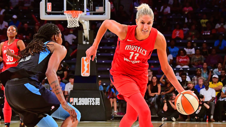 Mystics Hope to Have Elena Delle Donne Available for Semifinal Game 3 vs. Dream