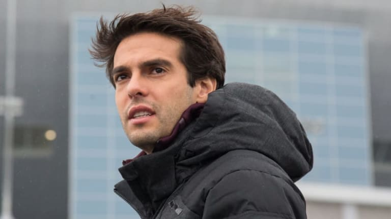 Milan Legend Kaka Returns to the San Siro to Take Backroom Role at the Club After Retirement