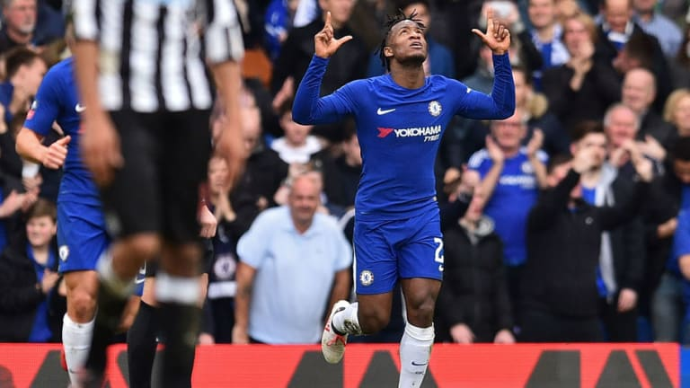 Antonio Conte Hails Chelsea Striker After Comfortable FA Cup Win Against Newcastle