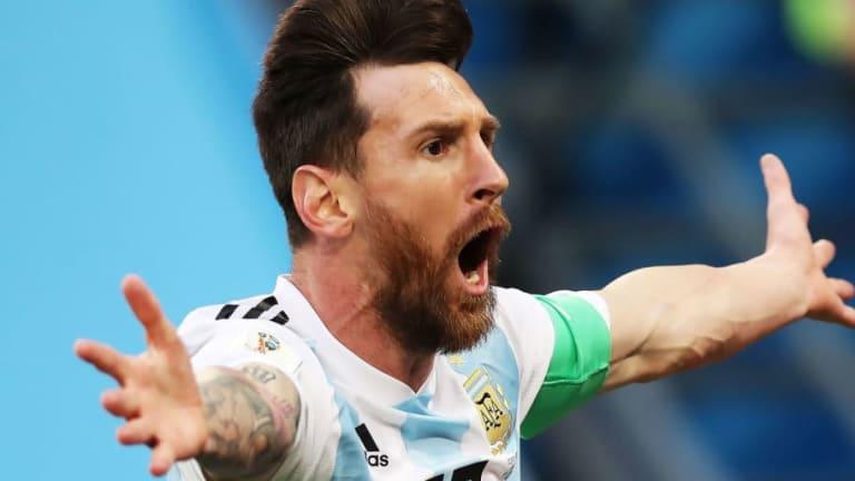 El récord que alcanzó Messi en los mundiales después de marcar a Nigeria
