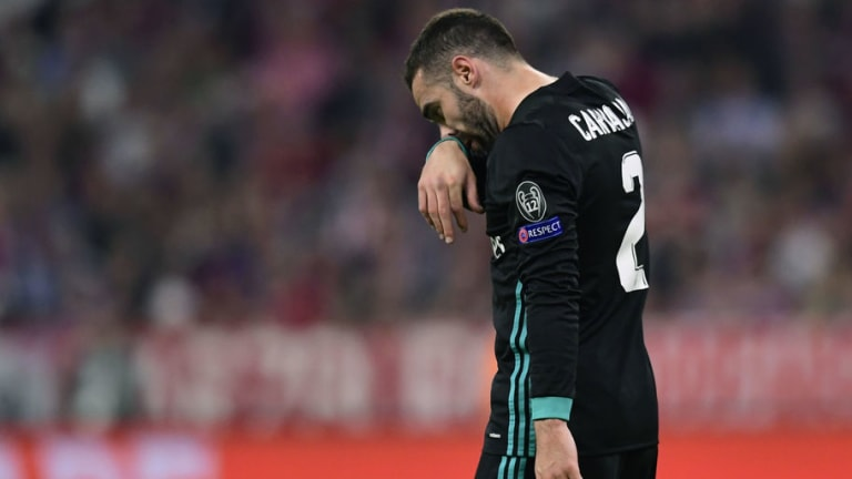 Dani Carvajal a Doubt for Bayern Return Leg After Suffering Thigh Strain in UCL Semi Final 1st Leg