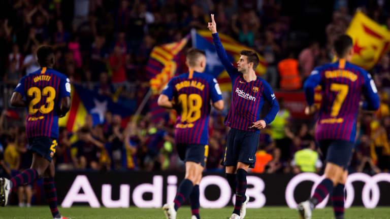 BOMBAZO   El Barça presenta por sorpresa una nueva actualización de su escudo