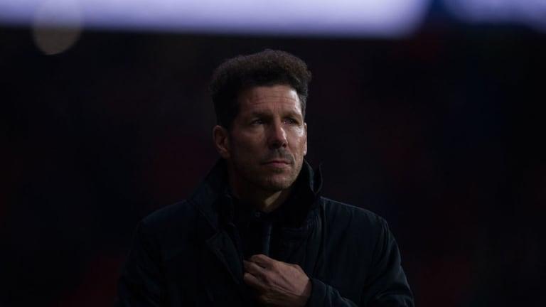 """Simeone: """"La Europa League es nuestra realidad, no veo más allá"""""""