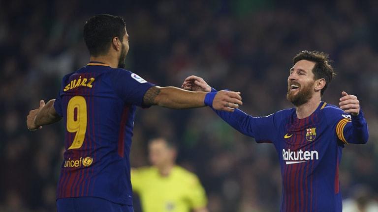 El récord de LaLiga que pueden romper Suárez y Messi ante el Alavés