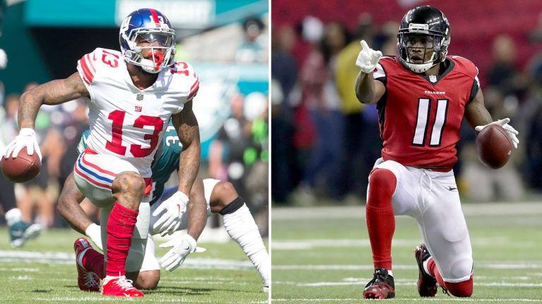 Top 10 Wide Receivers in Football for 2018