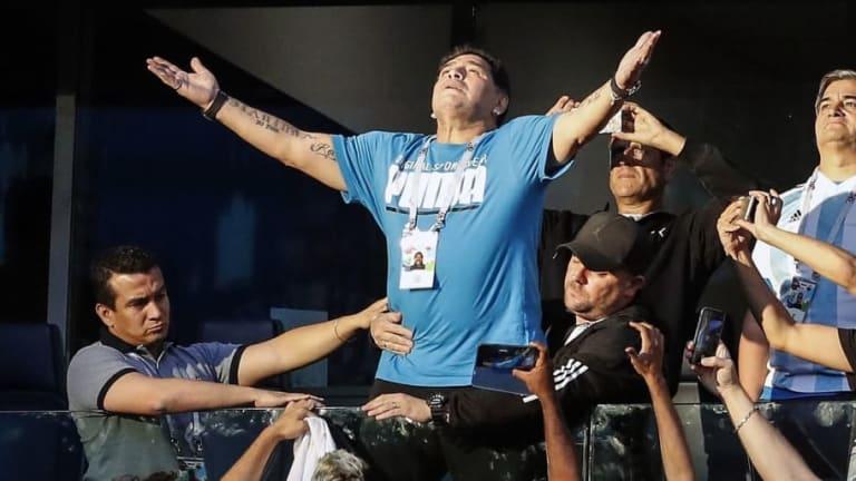 El peculiar análisis del Mundial a lo Maradona
