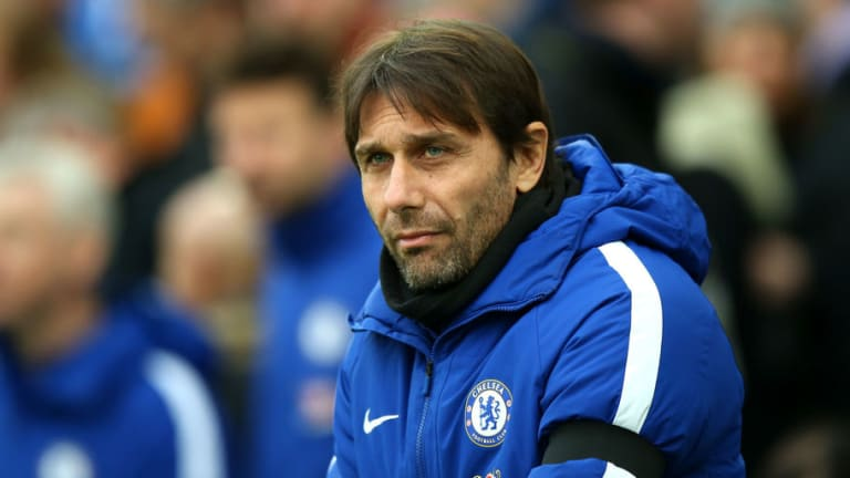 Under-Pressure Antonio Conte Reveals His Desire to See Out Chelsea Contract in Its Entirety