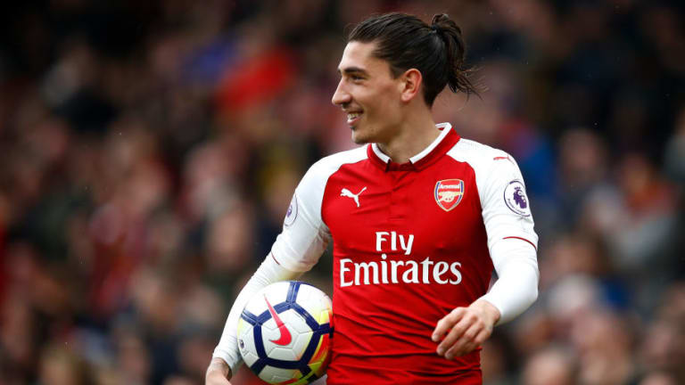 Hector Bellerin Conducts Training Session with Young Arsenal Fan in Support of WaterAid