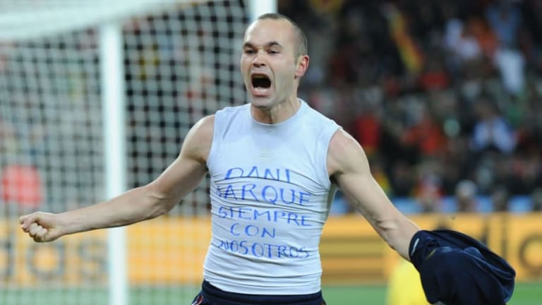 Barcelona Legend Andres Iniesta Discusses Struggles With Mental Health in Candid Interview